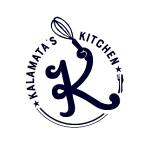kalamata's kitchen logo graphic